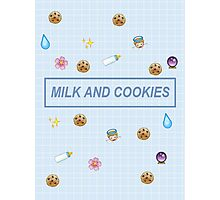 Milk and Cookies Photographic Print