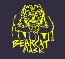 BOOTLEG WRASSLER BEARCAT MASK - YELLOW T-Shirt