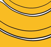 3 bananas pattern design cool Sticker