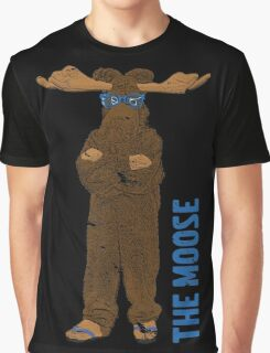 I Am The Moose (distressed) Graphic T-Shirt