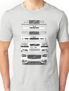 Volvo's Fab Four Chassis Unisex T-Shirt