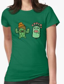 Prickly Pair Womens Fitted T-Shirt