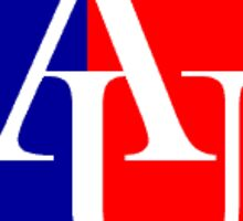 American University Wide Sticker