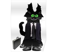 Business Cat Poster
