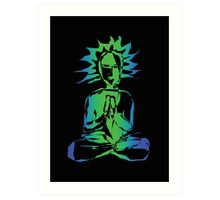 Digital Yogi 3 (2008) Art Print