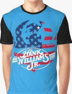 great hank williams Jr country music Graphic T-Shirt