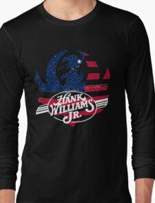 great hank williams Jr country music Long Sleeve T-Shirt