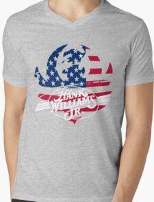 great hank williams Jr country music Mens V-Neck T-Shirt