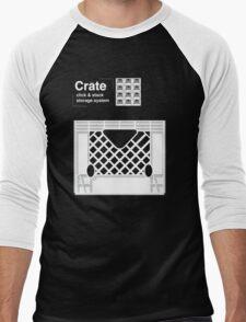 Crate System Men's Baseball ¾ T-Shirt