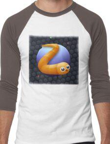 SLITHER.IO Men's Baseball ¾ T-Shirt