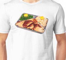 TV Dinner Pattern Unisex T-Shirt