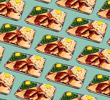 TV Dinner Pattern by Kelly  Gilleran