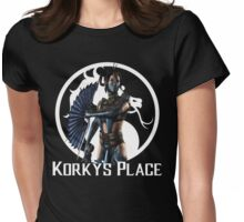 MKX Korky's Place Kitana  Womens Fitted T-Shirt