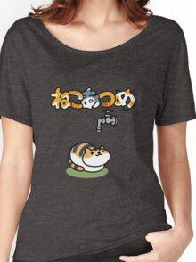 Neko Atsume Women's Relaxed Fit T-Shirt