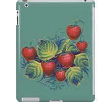 Strawberry glade iPad Case/Skin