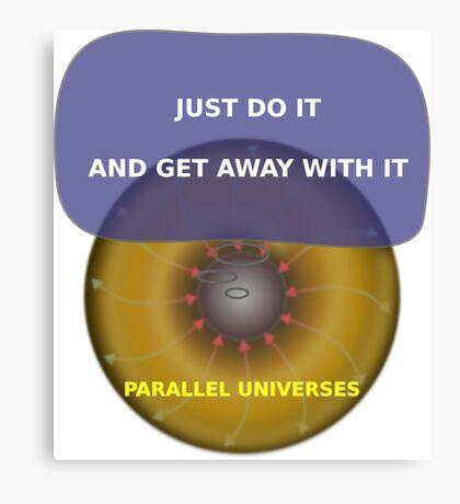 Parallel Universes - Nike2 Canvas Print