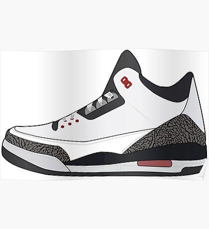 Air Jordan 3 Poster
