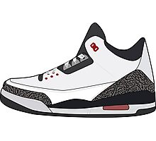 Air Jordan 3 Photographic Print