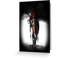 League of Legends - Zed - Phone Case and Shirt Greeting Card
