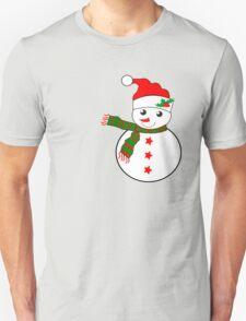 Snowman  ( 2332 views) T-Shirt
