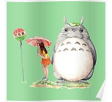 grown up totoro Poster