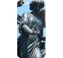 Bethesda Fountain Statue iPhone Case/Skin