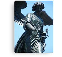 Bethesda Fountain Statue Canvas Print