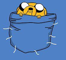 Pocket Jake (Adventure Time) by Seignemartin