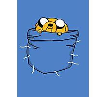 Pocket Jake (Adventure Time) Photographic Print