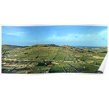 Gozo island in Malta Poster