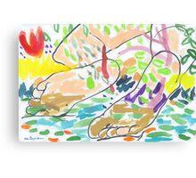 Sole Mates Canvas Print