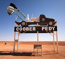 Welcome to Coober Pedy by Hans Kawitzki