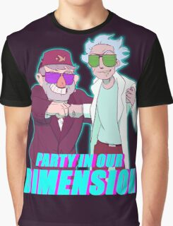 Party Grampstas- GF/RNM Crossover Picture Graphic T-Shirt
