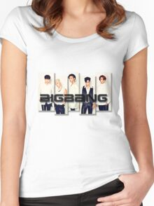 BigBang - 2 Women's Fitted Scoop T-Shirt