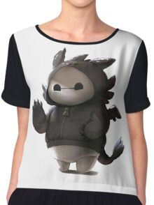 Baymax Like as Toothless Chiffon Top