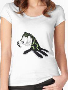 Ben Ten Alien Women's Fitted Scoop T-Shirt