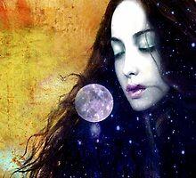 Full Moon Gaze by amira