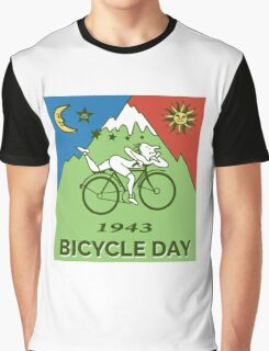 LSD - Bicycle Day 1943 Vintage T-Shirts Graphic T-Shirt