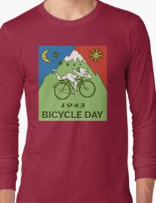 LSD - Bicycle Day 1943 Vintage T-Shirts Long Sleeve T-Shirt