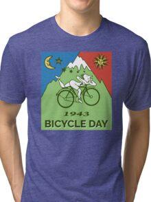 LSD - Bicycle Day 1943 Vintage T-Shirts Tri-blend T-Shirt
