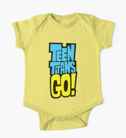 Teen Titans Go! Logo One Piece - Short Sleeve