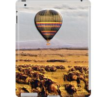 Experiencing The Great Migration iPad Case/Skin