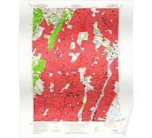 USGS TOPO Map New Jersey NJ Orange 254674 1955 24000 Poster