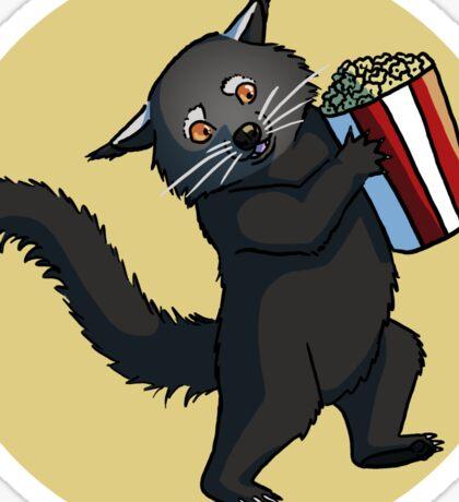 Binturong Popcorn Sticker