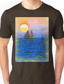 Sunset Sail Unisex T-Shirt
