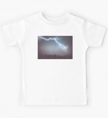 Storm Clouds and Lightning Kids Tee