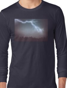 Storm Clouds and Lightning Long Sleeve T-Shirt