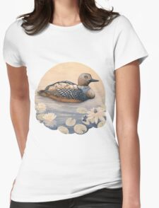 Mother Goose  Womens Fitted T-Shirt