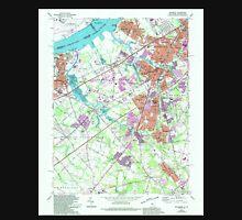 USGS TOPO Map New Jersey NJ Woodbury 255009 1967 24000 Unisex T-Shirt