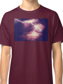 Storm Clouds and Lightning 3 Classic T-Shirt